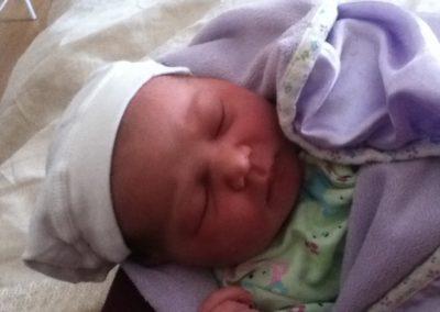 Jennifer & baby Carley