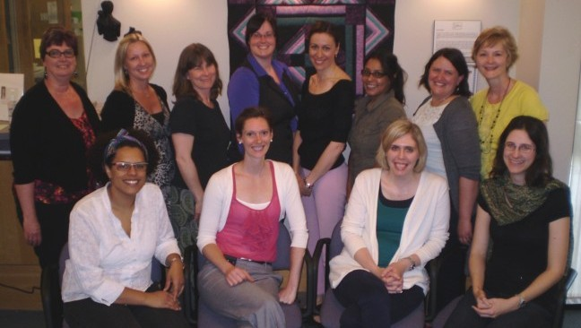 Photograph of St. Jacobs Midwives & Staff.
